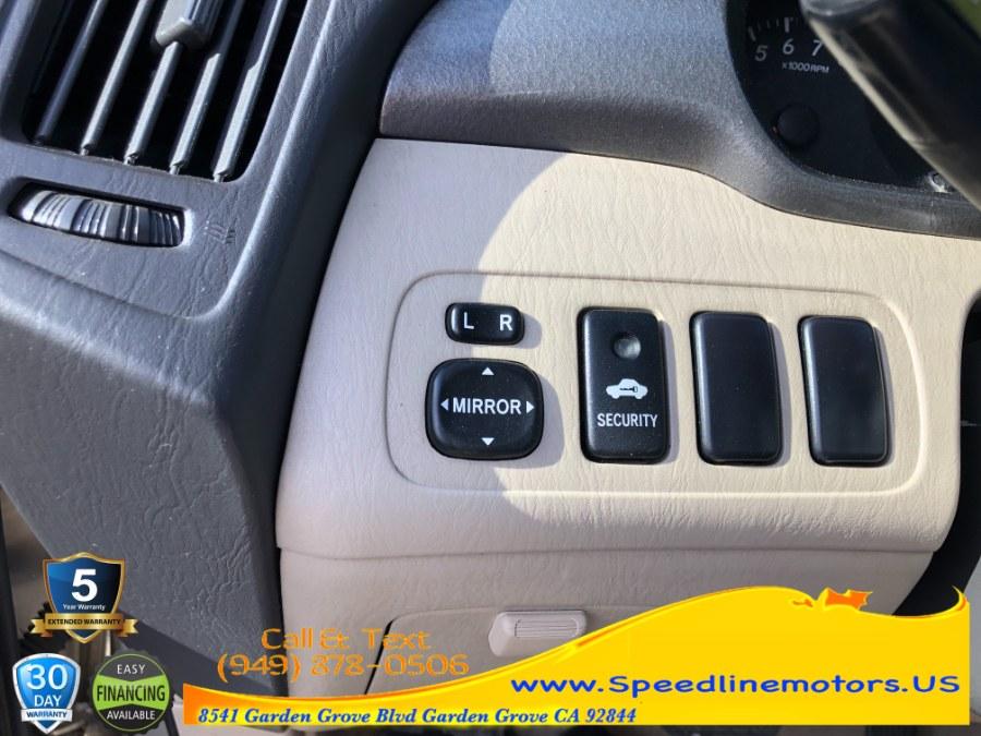 Used Toyota Highlander 4dr V6 2002   Speedline Motors. Garden Grove, California