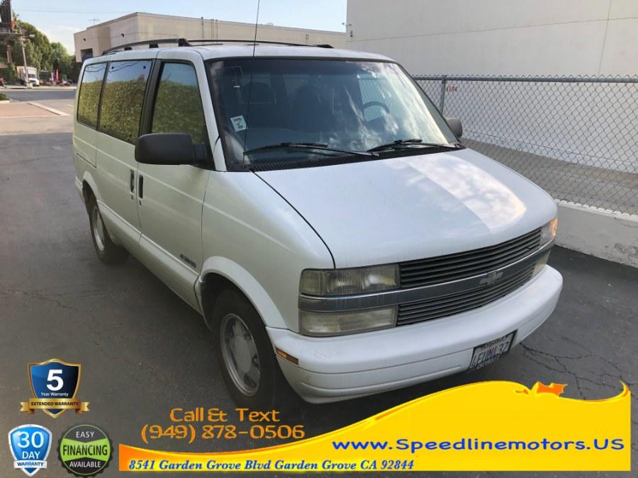 Used 1999 Chevrolet Astro Passenger in Garden Grove, California | Speedline Motors. Garden Grove, California