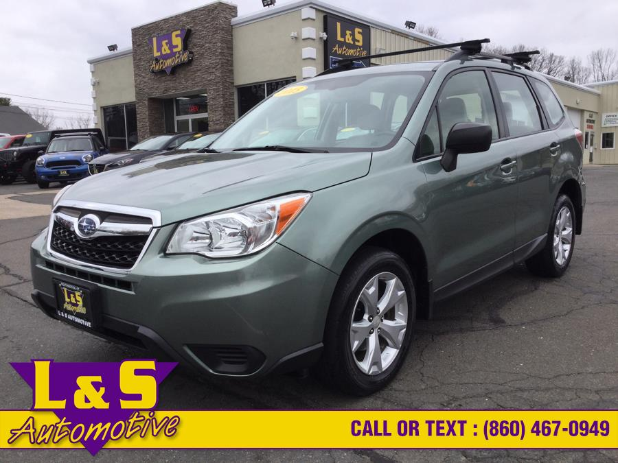 Used 2015 Subaru Forester in Plantsville, Connecticut | L&S Automotive LLC. Plantsville, Connecticut