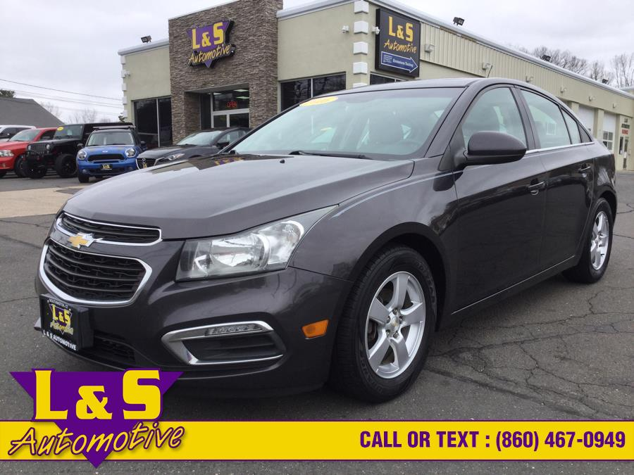 Used Chevrolet Cruze Limited 4dr Sdn Auto LT w/1LT 2016 | L&S Automotive LLC. Plantsville, Connecticut