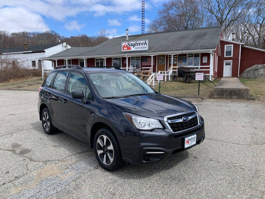 Used Subaru Forester 2.5i CVT 2018 | Saybrook Auto Barn. Old Saybrook, Connecticut
