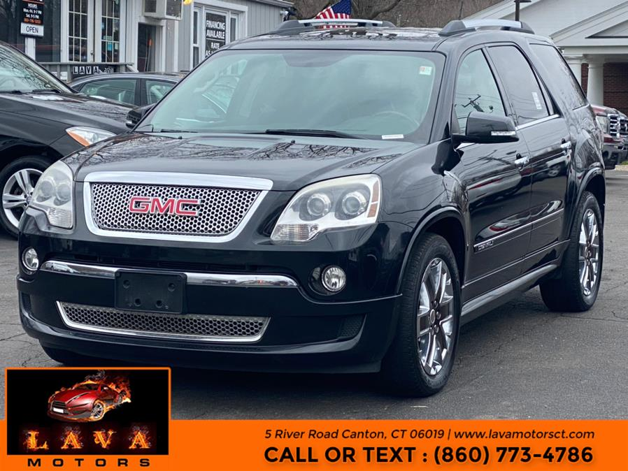 Used 2012 GMC Acadia in Canton, Connecticut | Lava Motors. Canton, Connecticut