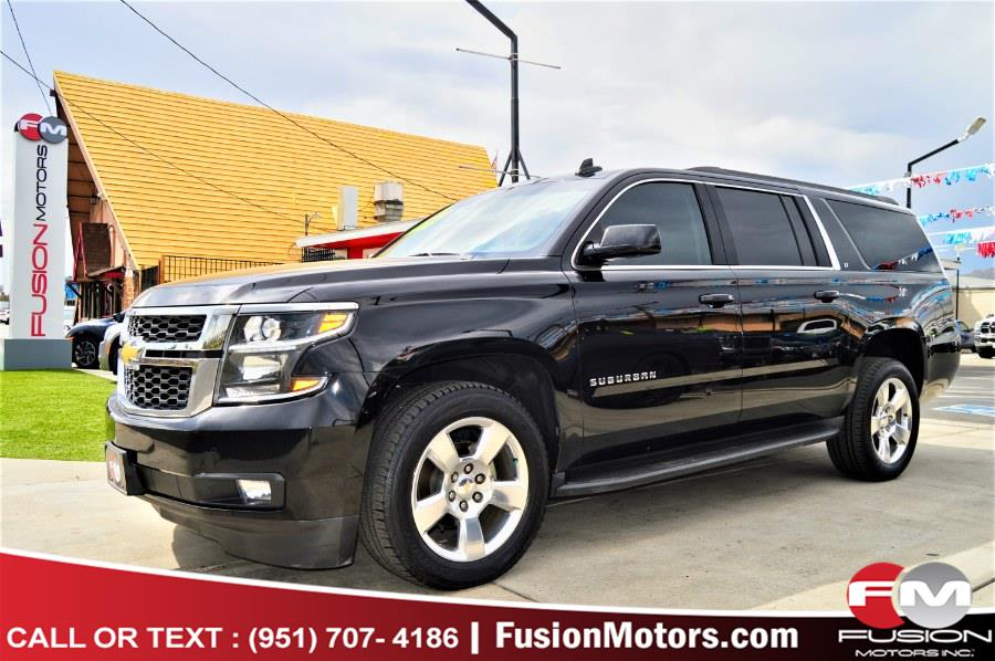 Used Chevrolet Suburban 2WD 4dr 1500 LT 2016 | Fusion Motors Inc. Moreno Valley, California