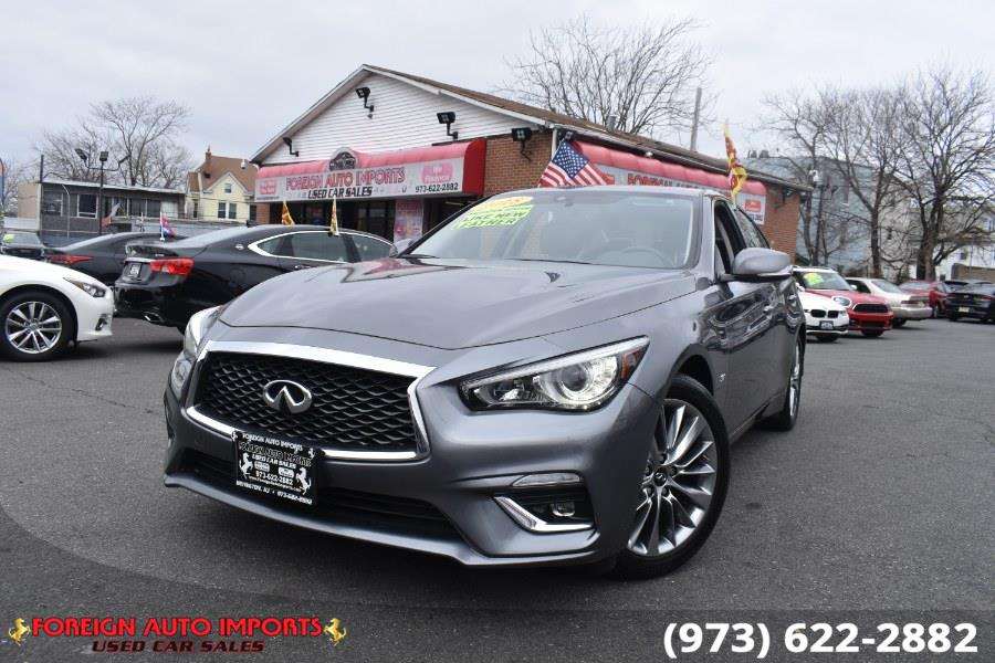 Used 2018 INFINITI Q50 in Irvington, New Jersey | Foreign Auto Imports. Irvington, New Jersey