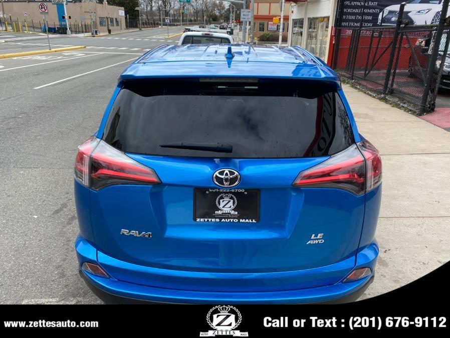 Used Toyota RAV4 LE AWD (Natl) 2018   Zettes Auto Mall. Jersey City, New Jersey