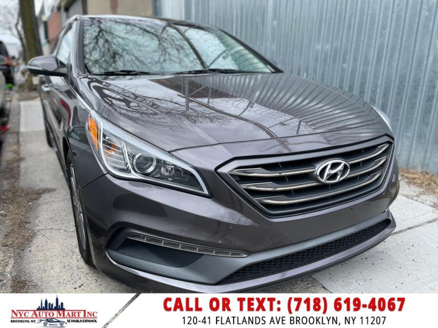 Used 2016 Hyundai Sonata in Brooklyn, New York   NYC Automart Inc. Brooklyn, New York