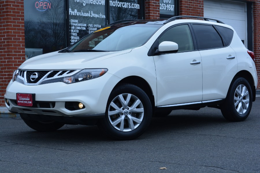 Used Nissan Murano AWD 4dr SL 2014 | Longmeadow Motor Cars. ENFIELD, Connecticut