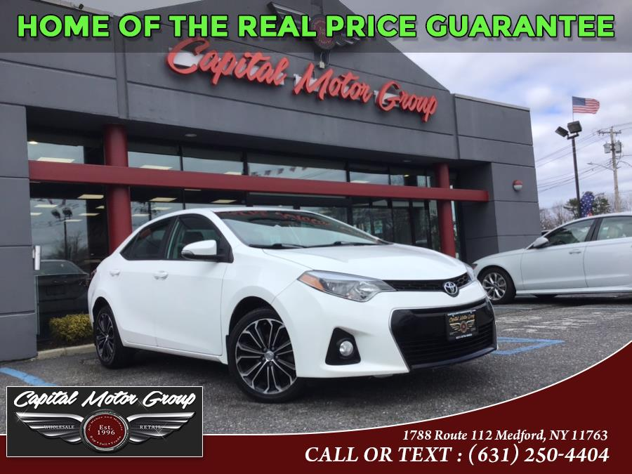 Used Toyota Corolla 4dr Sdn CVT S (Natl) 2016 | Capital Motor Group Inc. Medford, New York