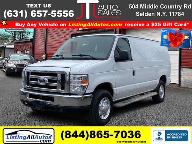 Used 2014 Ford Econoline Cargo Van in Patchogue, New York | www.ListingAllAutos.com. Patchogue, New York