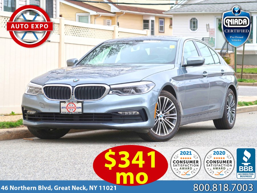 2018 BMW 5 Series 540i xDrive Sport Line Package, available for sale in Great Neck, NY
