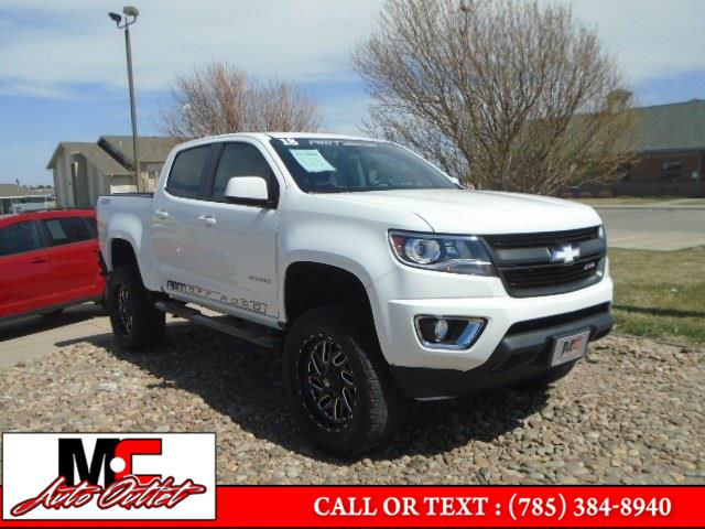 "Used Chevrolet Colorado 4WD Crew Cab 128.3"" Z71 2018 