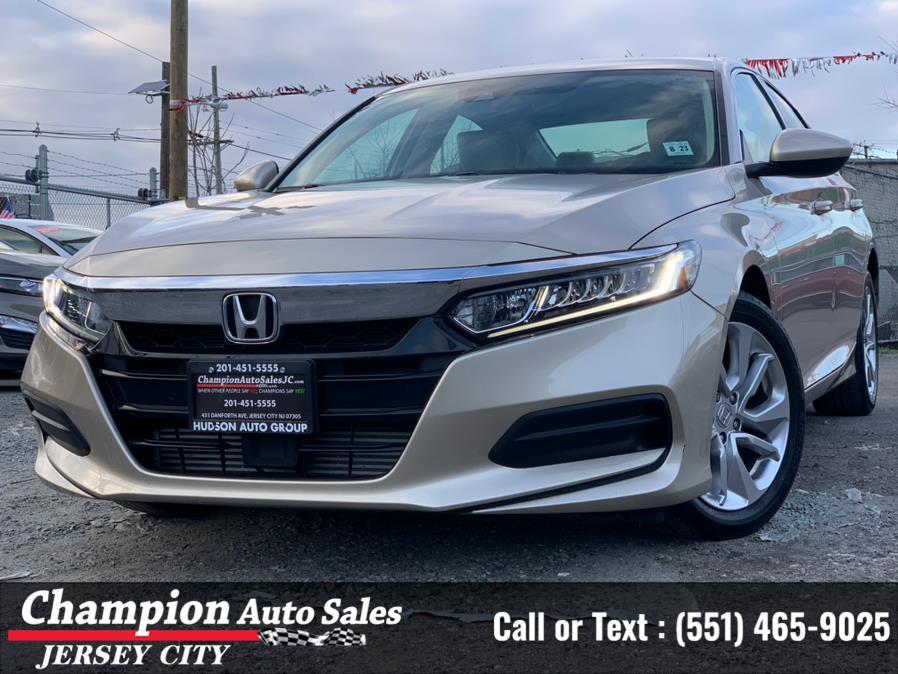 Used Honda Accord Sedan LX 1.5T CVT 2018   Champion Auto Sales of JC. Jersey City, New Jersey