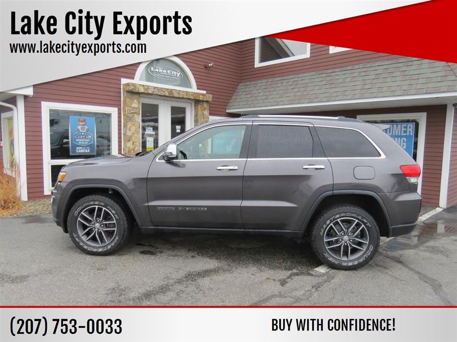 Used Jeep Grand Cherokee Limited 4x4 4dr SUV 2017 | Lake City Exports Inc. Auburn, Maine