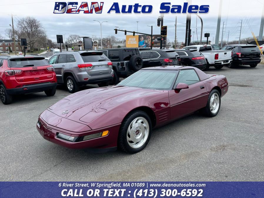 Used Chevrolet Corvette 40TH ANNIVERSARY CONVERTIBLE 2dr Convertible 1993   Dean Auto Sales. W Springfield, Massachusetts