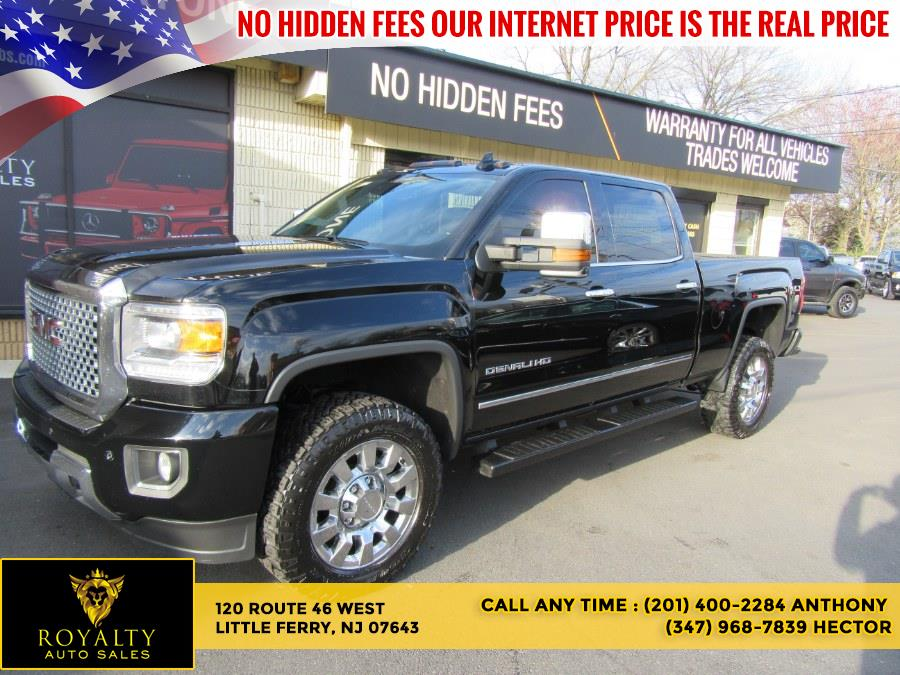 Used 2016 GMC Sierra 2500HD in Little Ferry, New Jersey | Royalty Auto Sales. Little Ferry, New Jersey