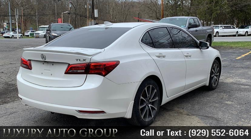 Used Acura TLX 4dr Sdn FWD V6 Tech 2015 | Luxury Auto Group. Bronx, New York