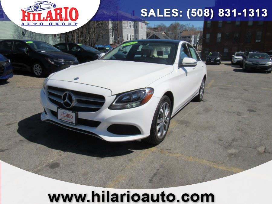 Used 2016 Mercedes-Benz C300 in Worcester, Massachusetts | Hilario's Auto Sales Inc.. Worcester, Massachusetts