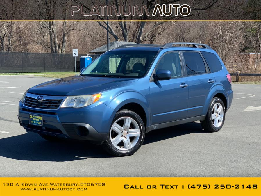Used 2009 Subaru Forester (Natl) in Waterbury, Connecticut | Platinum Auto Care. Waterbury, Connecticut
