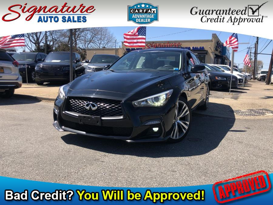 Used 2018 INFINITI Q50 in Franklin Square, New York | Signature Auto Sales. Franklin Square, New York