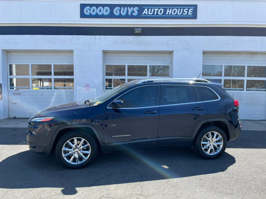 Used Jeep Cherokee 4WD 4dr Limited 2015 | Good Guys Auto House. Southington, Connecticut