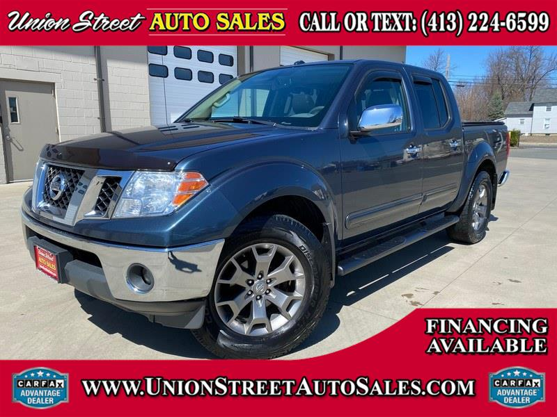 Used Nissan Frontier 4WD Crew Cab SWB Auto SL 2014 | Union Street Auto Sales. West Springfield, Massachusetts
