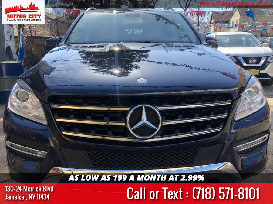 Used Mercedes-Benz M-Class 4MATIC 4dr ML 350 2015 | Motor City. Jamaica, New York
