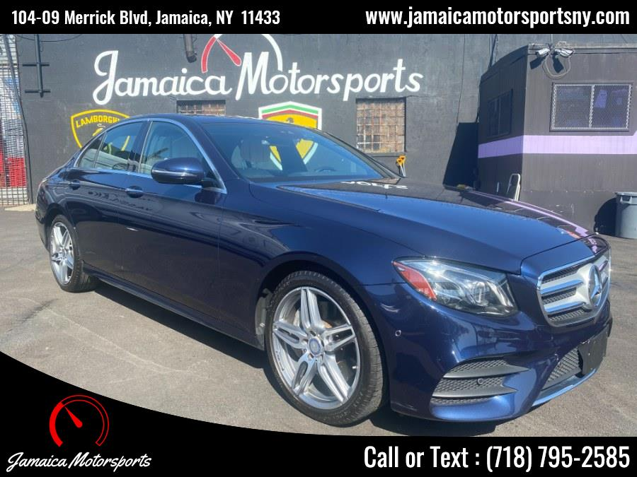 Used 2017 Mercedes-Benz E-Class in Jamaica, New York | Jamaica Motor Sports . Jamaica, New York