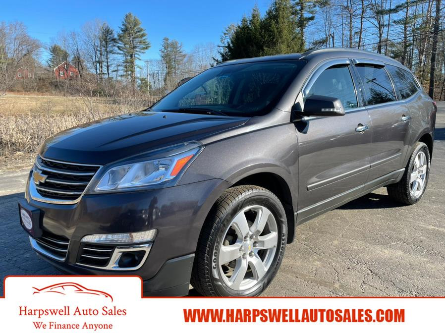 Used Chevrolet Traverse AWD 4dr Premier 2017 | Harpswell Auto Sales Inc. Harpswell, Maine