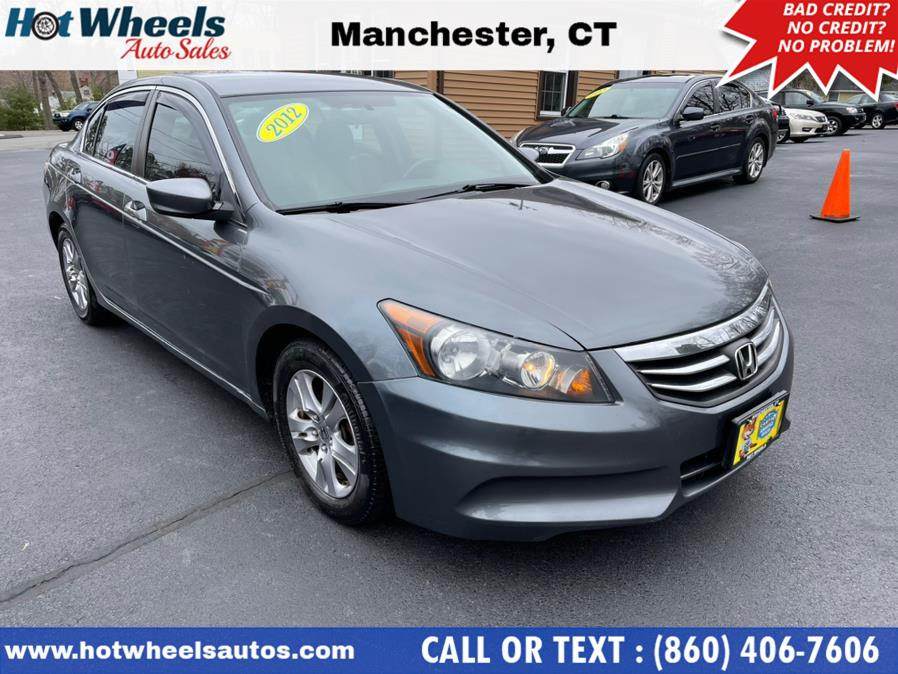Used 2012 Honda Accord Sdn in Manchester, Connecticut | Hot Wheels Auto Sales LLC. Manchester, Connecticut