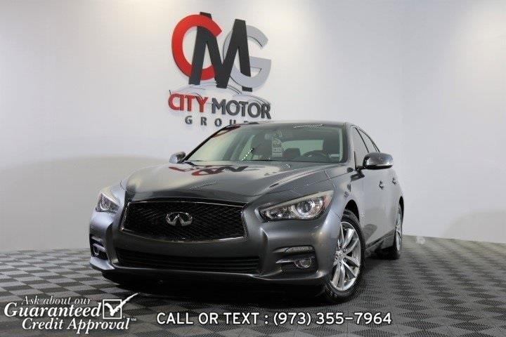 Used Infiniti Q50 Premium 2014 | City Motor Group Inc.. Haskell, New Jersey