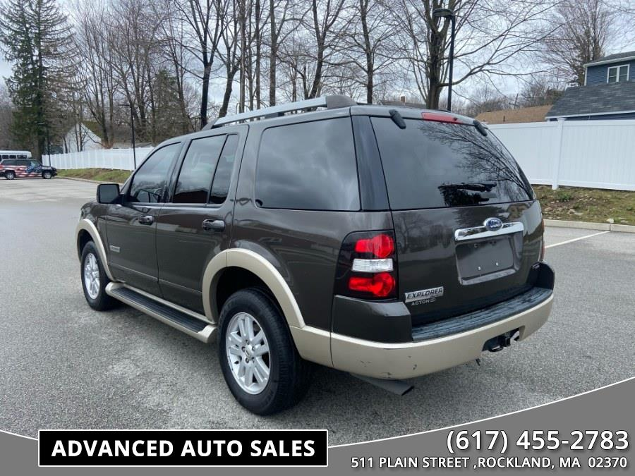 Used Ford Explorer 4WD 4dr V6 Eddie Bauer 2007 | Advanced Auto Sales. Rockland, Massachusetts