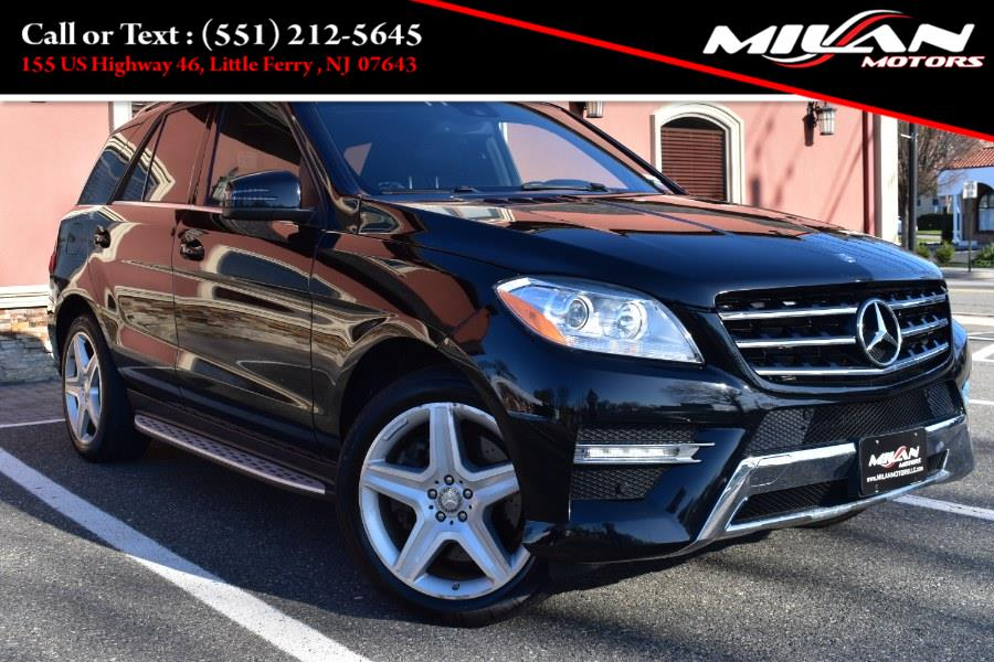 Used Mercedes-Benz M-Class 4MATIC 4dr ML 550 2013 | Milan Motors. Little Ferry , New Jersey