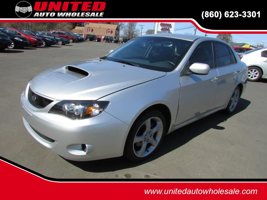 Used Subaru Impreza Sedan 4dr Man WRX 2008 | United Auto Sales of E Windsor, Inc. East Windsor, Connecticut