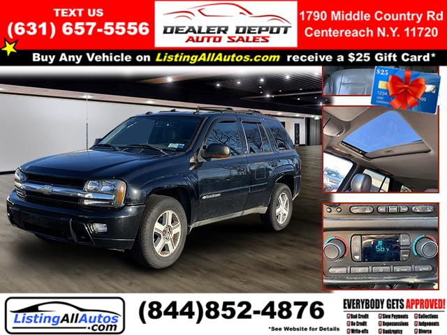 Used Chevrolet Trailblazer 4dr 4WD LS 2004 | www.ListingAllAutos.com. Patchogue, New York