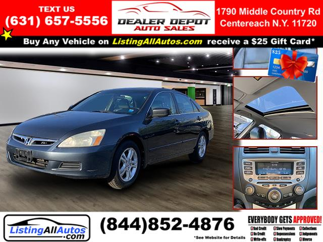 Used Honda Accord Sedan 4dr I4 AT EX-L 2007 | www.ListingAllAutos.com. Patchogue, New York