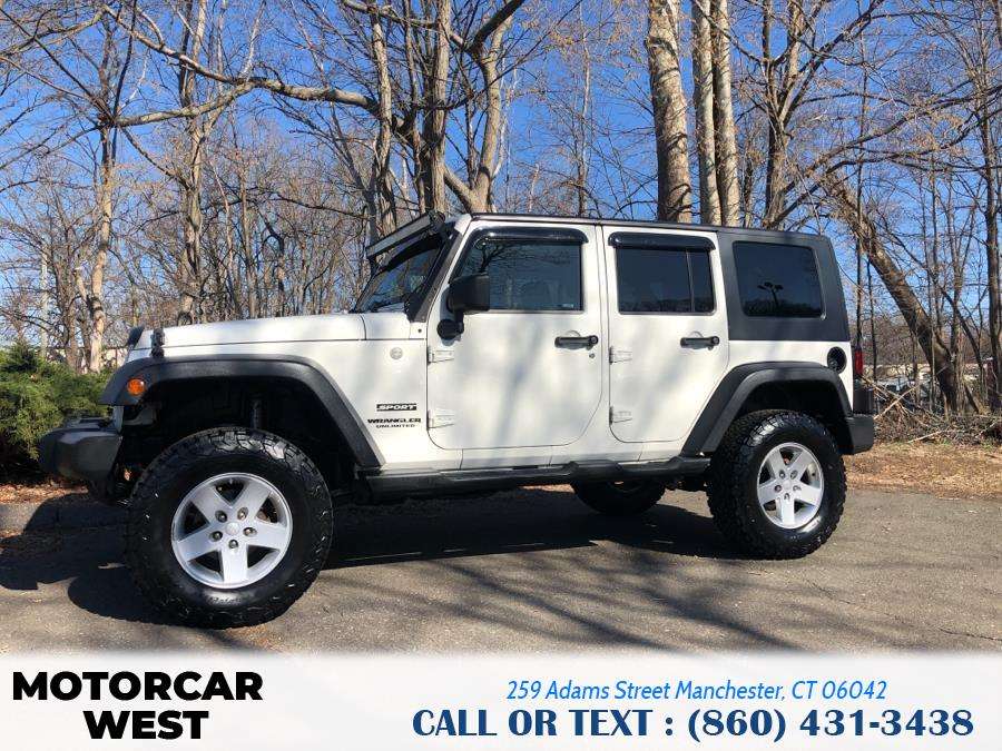 Used Jeep Wrangler Unlimited 4WD 4dr Sport 2010 | Motorcar West. Manchester, Connecticut