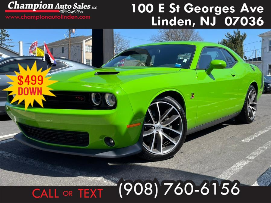 Used 2017 Dodge Challenger in Linden, New Jersey | Champion Auto Sales. Linden, New Jersey