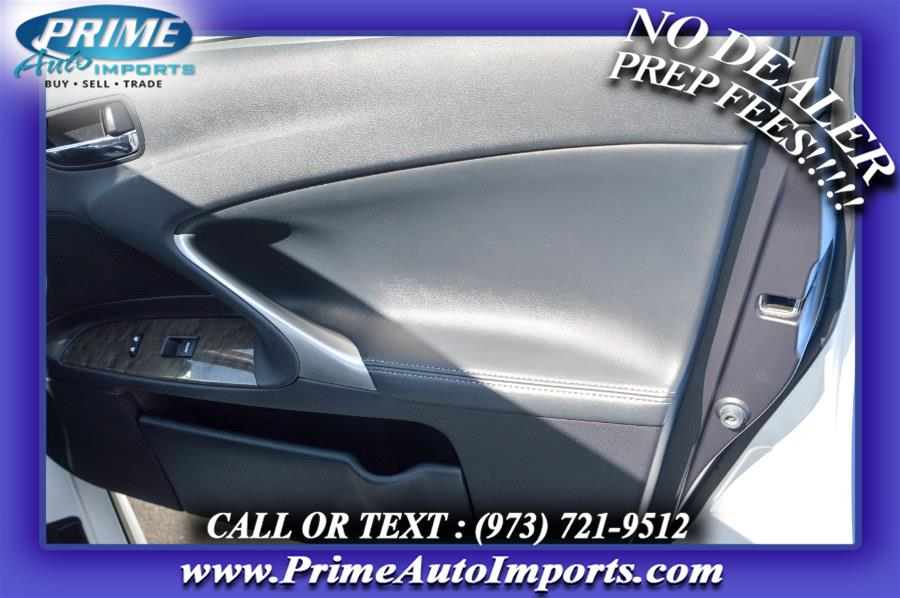Used Lexus IS 250 4dr Sport Sdn Auto AWD 2011 | Prime Auto Imports. Bloomingdale, New Jersey
