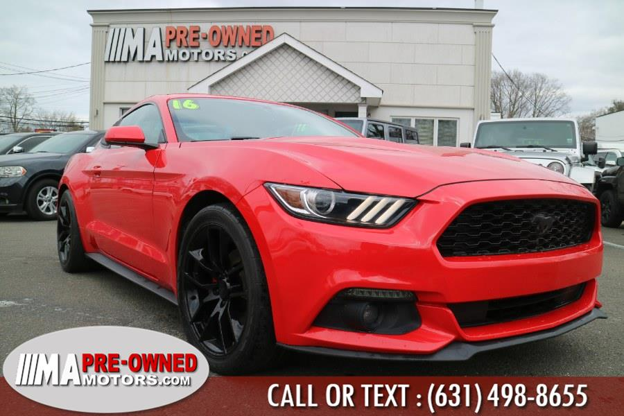 Used 2016 Ford Mustang in Huntington, New York | M & A Motors. Huntington, New York