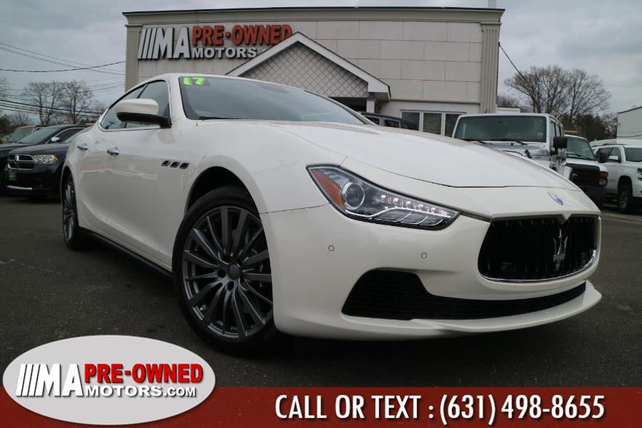 Used 2017 Maserati Ghibli in Huntington, New York | M & A Motors. Huntington, New York