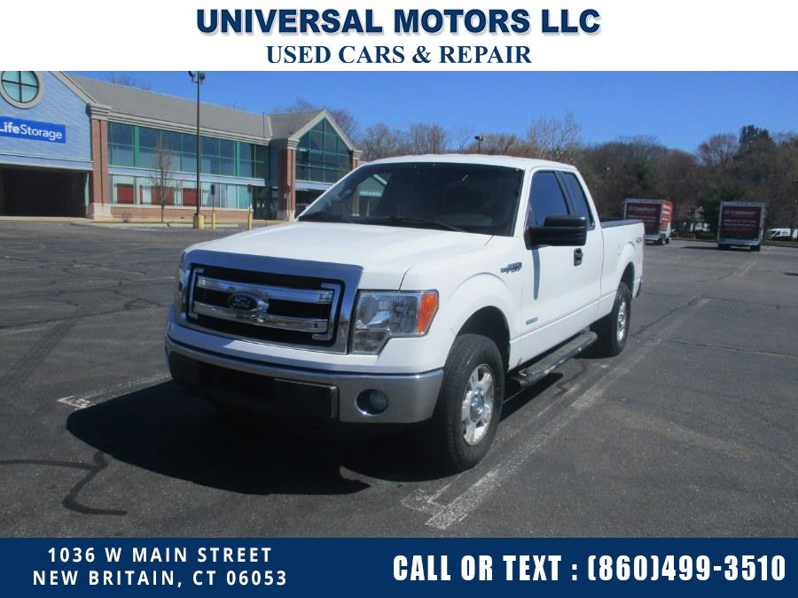 "Used Ford F-150 4WD SuperCab 163"" XLT 2013 