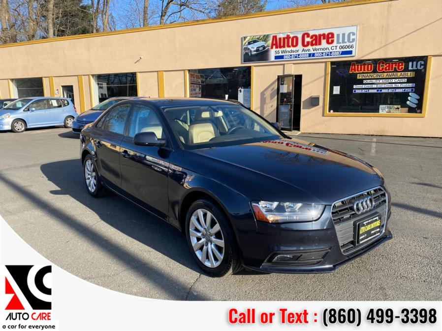 Used 2014 Audi A4 in Vernon , Connecticut | Auto Care Motors. Vernon , Connecticut