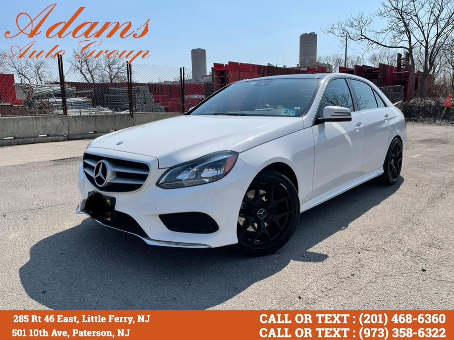 Used Mercedes-Benz E-Class 4dr Sdn E 400 4MATIC 2015 | Adams Auto Group . Little Ferry , New Jersey
