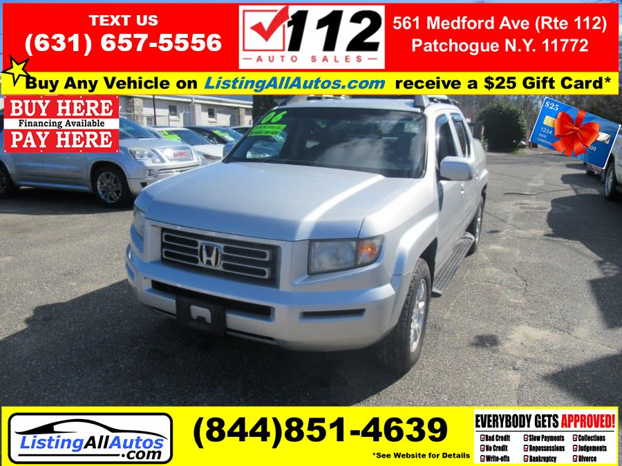 Used 2006 Honda Ridgeline in Patchogue, New York | www.ListingAllAutos.com. Patchogue, New York