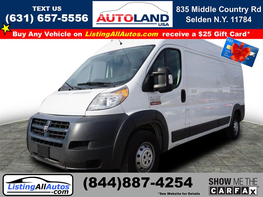 Used 2014 Ram Promaster Cargo in Patchogue, New York | www.ListingAllAutos.com. Patchogue, New York