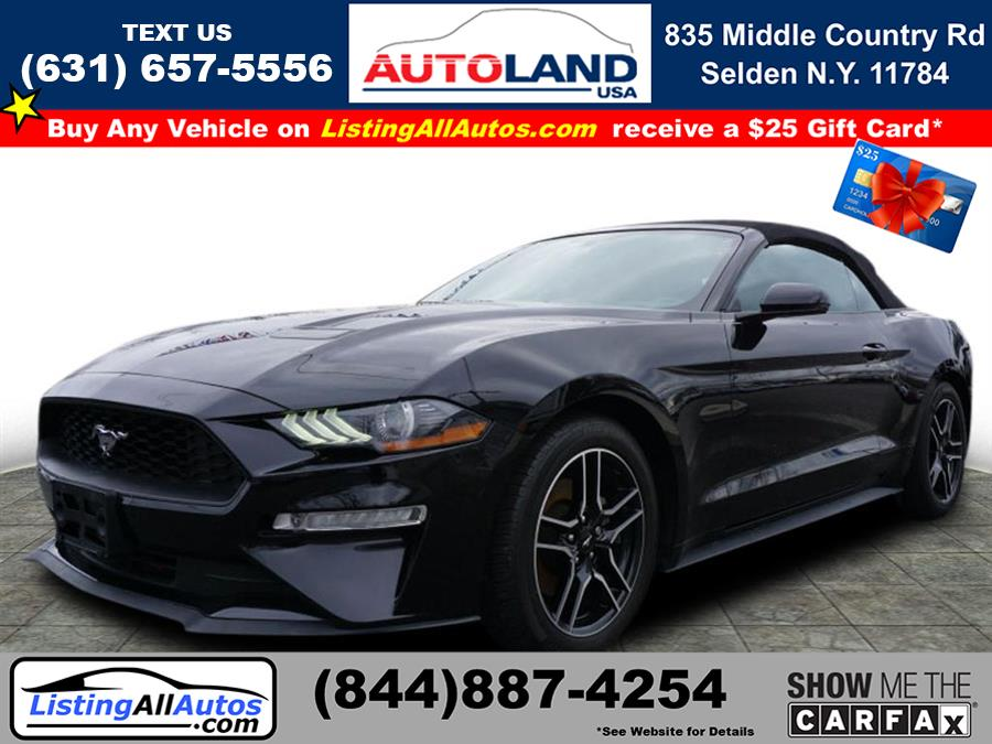 Used Ford Mustang EcoBoost 2018 | www.ListingAllAutos.com. Patchogue, New York