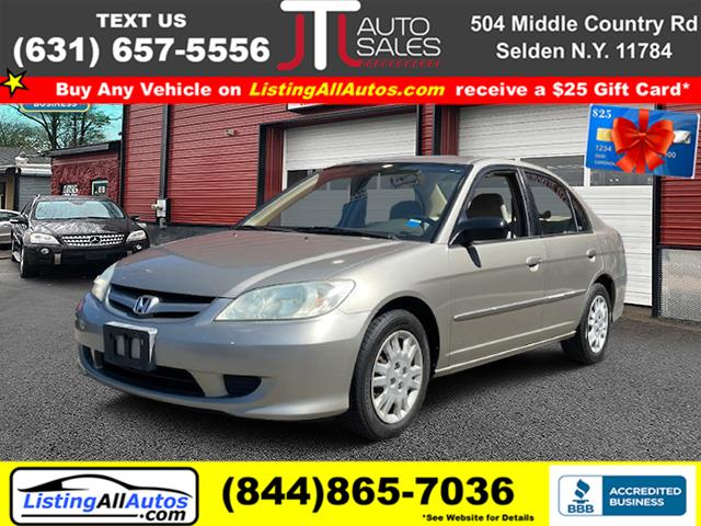 Used Honda Civic 4dr Sdn LX Auto 2004 | www.ListingAllAutos.com. Patchogue, New York
