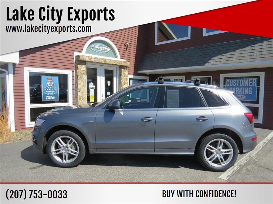 Used Audi Q5 3.0T quattro Premium Plus AWD 4dr SUV 2014 | Lake City Exports Inc. Auburn, Maine
