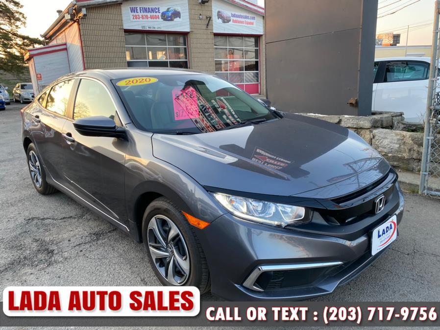 Used 2020 Honda Civic Sedan in Bridgeport, Connecticut | Lada Auto Sales. Bridgeport, Connecticut