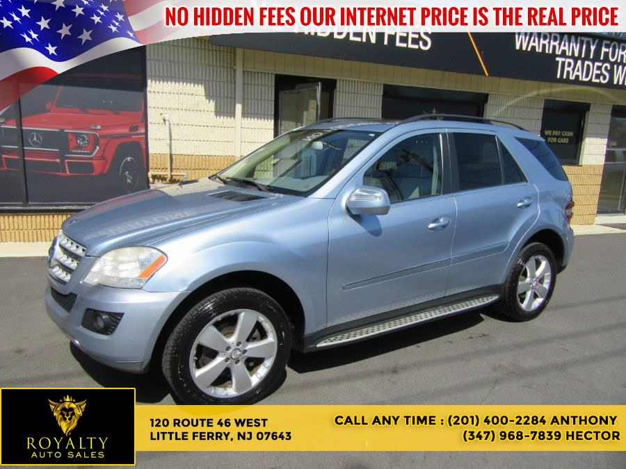 Used Mercedes-Benz M-Class 4MATIC 4dr ML350 2010 | Royalty Auto Sales. Little Ferry, New Jersey